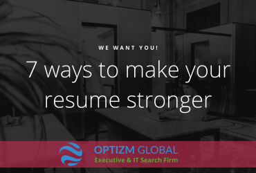 Seven ways to make your resume stronger